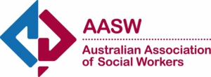 Mentail health Australian Association of Social Workers Logo