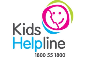 Kids help line logo 1800 55 1800